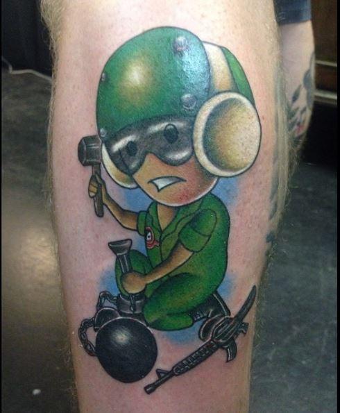 tattoo bomb vietnam war