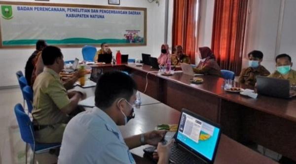 Mewujudkan KLA di Natuna, BP3D Gelar Rapat Bersama OPD