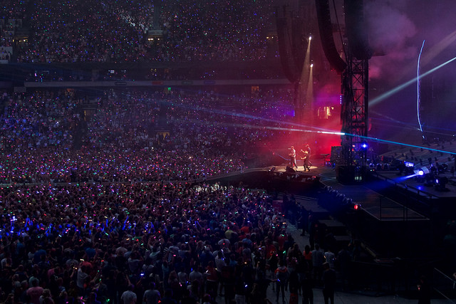 "Coldplay's ""A Head Full Of Dreams Tour"" at Amsterdam Arena"