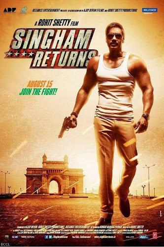 Singham Returns (2014) Movie Poster No. 2
