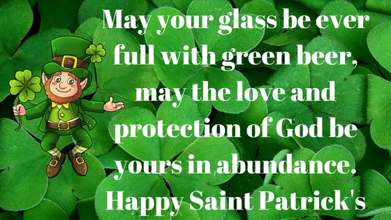 St patty's day 2018 birthday wishes
