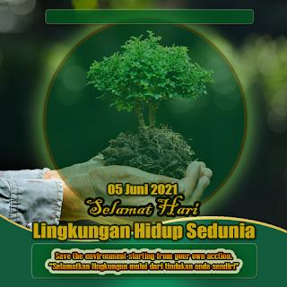poster hari lingkungan hidup sedunia png hd- kanalmu