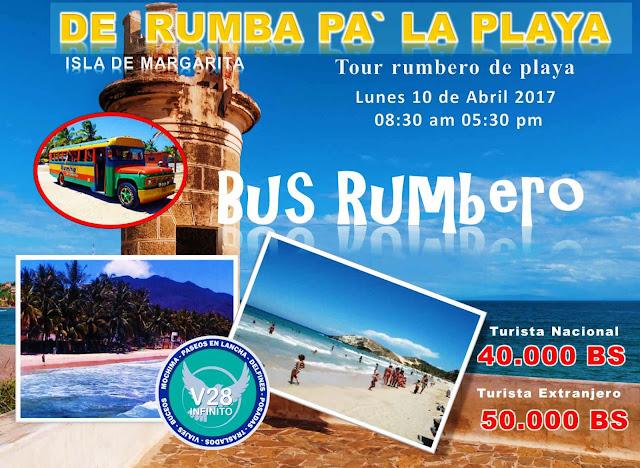 IIMAGEN BUS RUMBERO ISLA DE MARGARITA