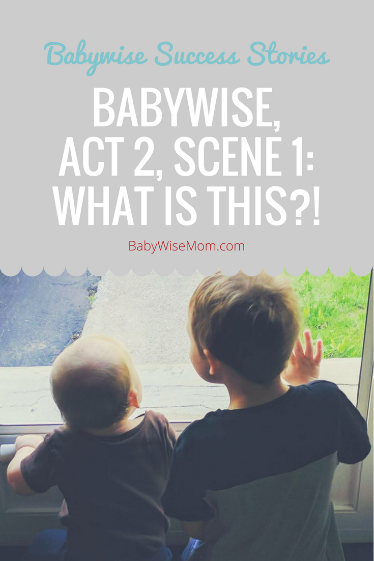 Babywise, Act 2, Scene 1: What is this?!