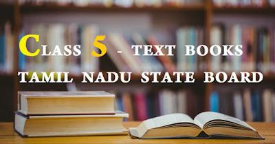 CLASS 5 - TEXT BOOKS TAMIL NADU STATE BOARD