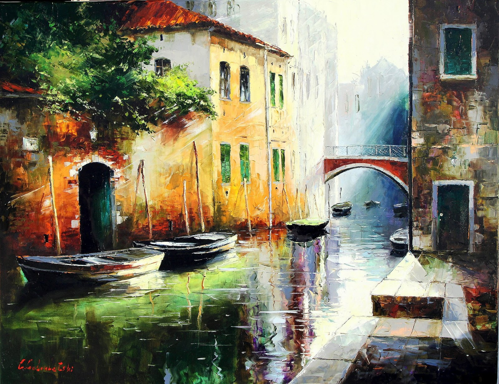 Gleb Goloubetski The Silence Of Venice