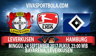 Prediksi Leverkusen vs Hamburg 24 September 2017