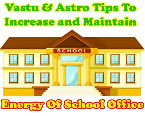 Vastu tips for school office