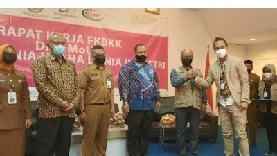 FKPT dan Dinas Tenaga Kerja Lakukan MoU Bersama SMK  se Kabupaten Tangerang
