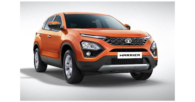 New Tata Harrier 5seater SUV hd Wallpapers