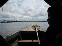 Boat trip in the Amazon