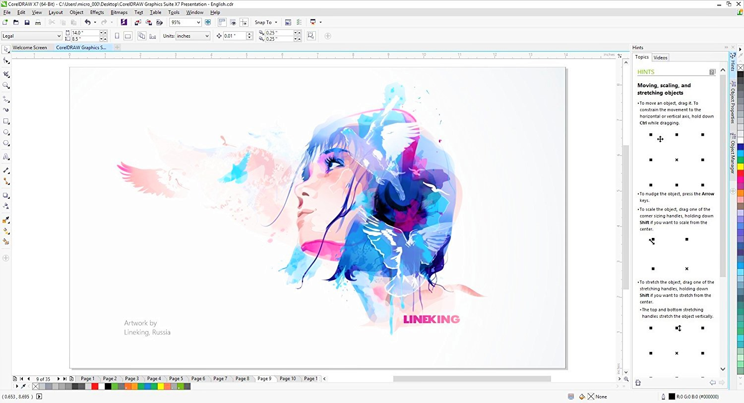 CorelDraw Graphics Suite X7 Full Version Terbaru 2020 Working