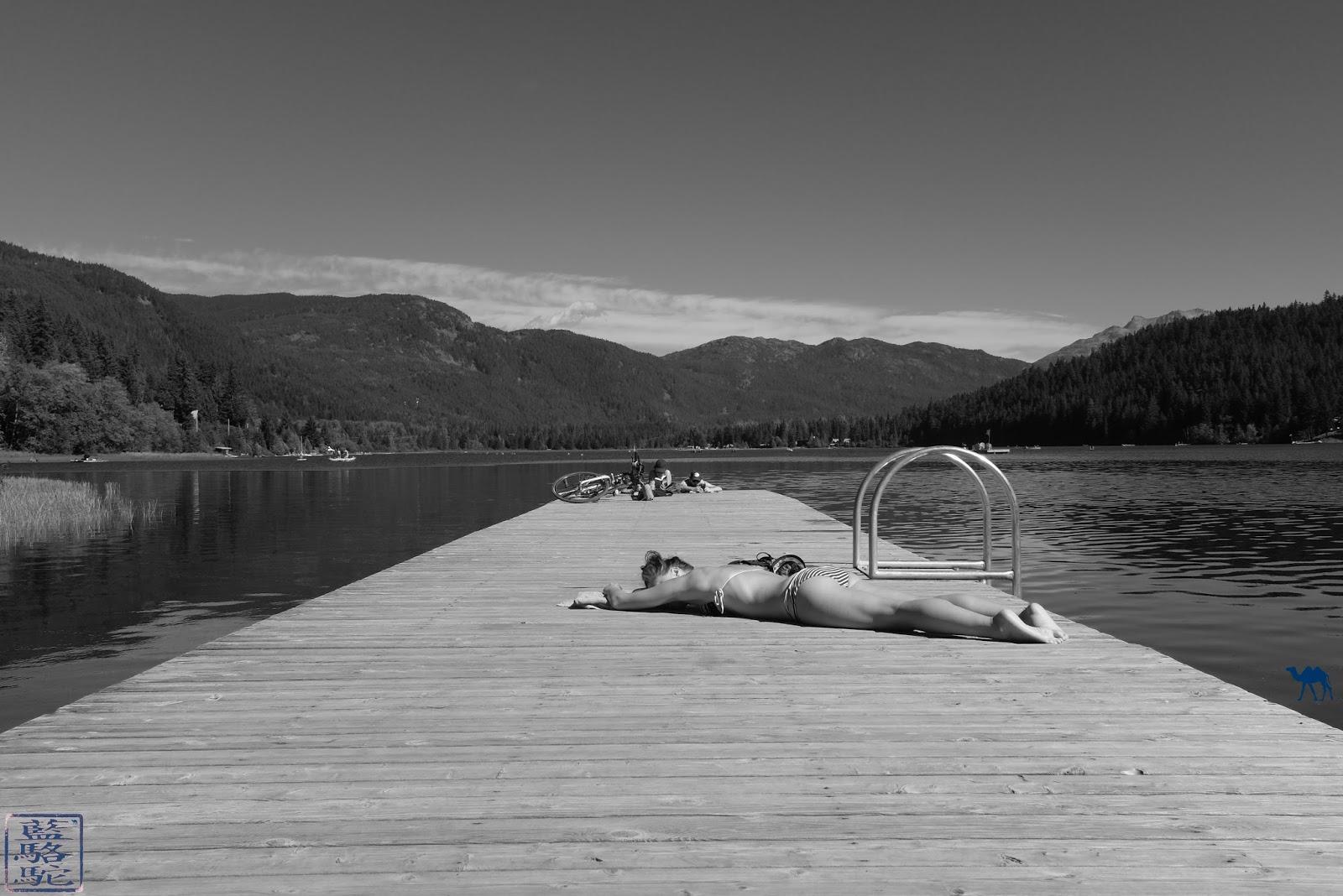 Le Chameau Bleu - Ponton de l'Alta Lake