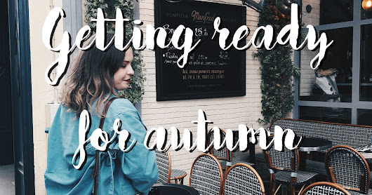 #Lookbook : Getting ready for autumn