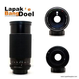 Lensa Manual Tokina 80-200mm F4.0 Mount M42