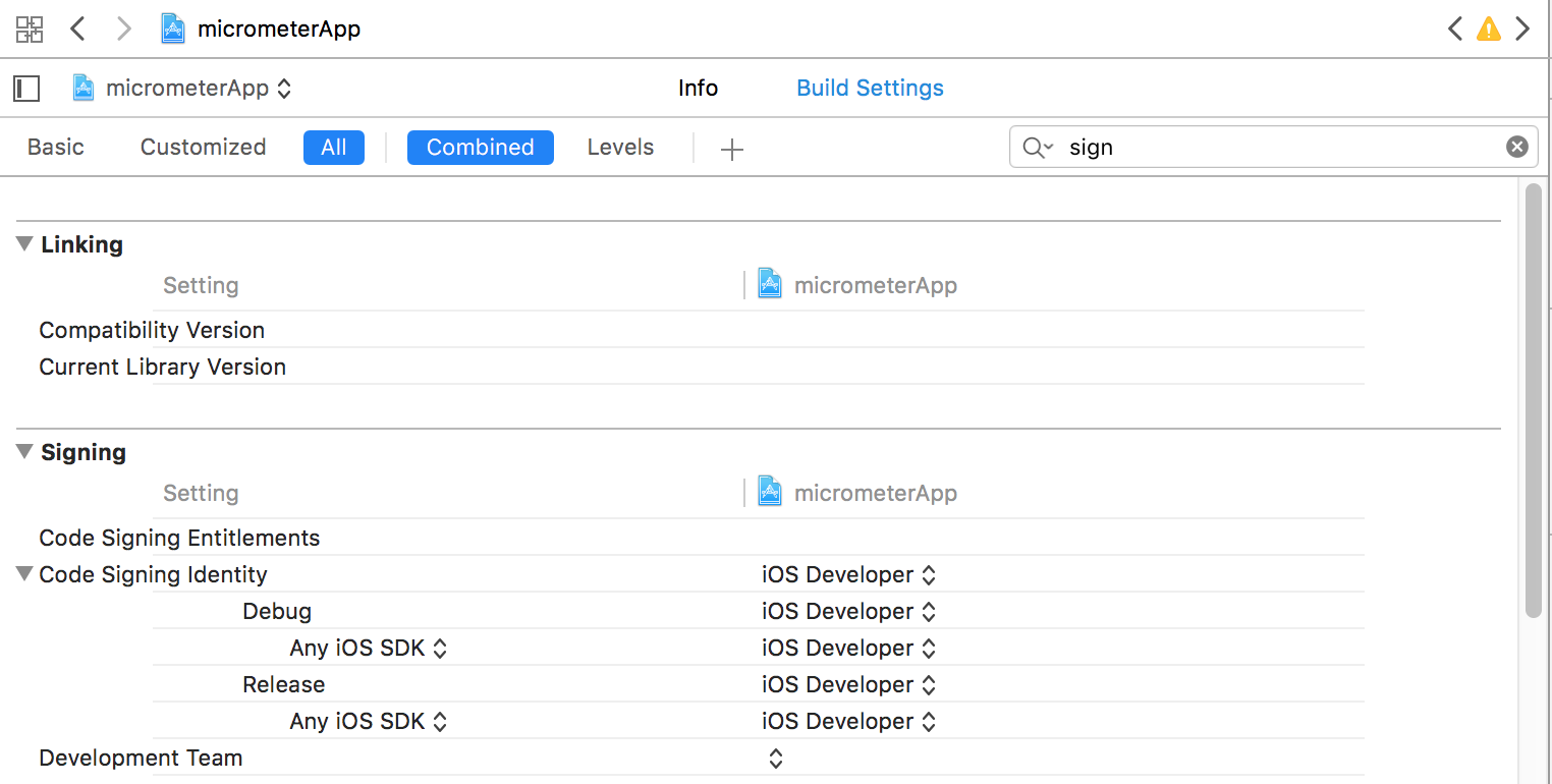 Target Settings Xcode Changed Them When I Deleted The Line Provisioning Pro In Pbxproj