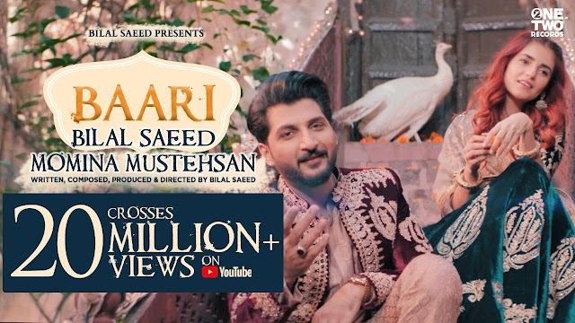 Baari Song Lyrics by Bilal Saeed and Momina Mustehsan | One Two Records | Latest Punjabi Song 2019