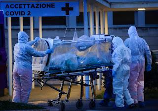 virus corona di italia