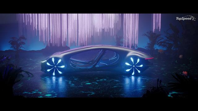 سيارة مفهوم جديدة لمرسيدس بنز ذات تصميم مستوحى من فيلم افاتار !!