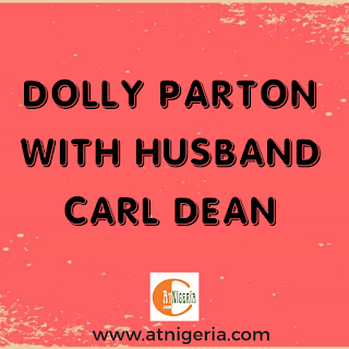Dolly Parton with husband Carl Dean