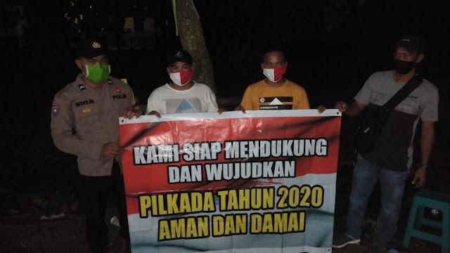Anggota Polsek Kahayan Kuala Sambangi dan Sosialisasi Kamtibmas kepada Masyarakat