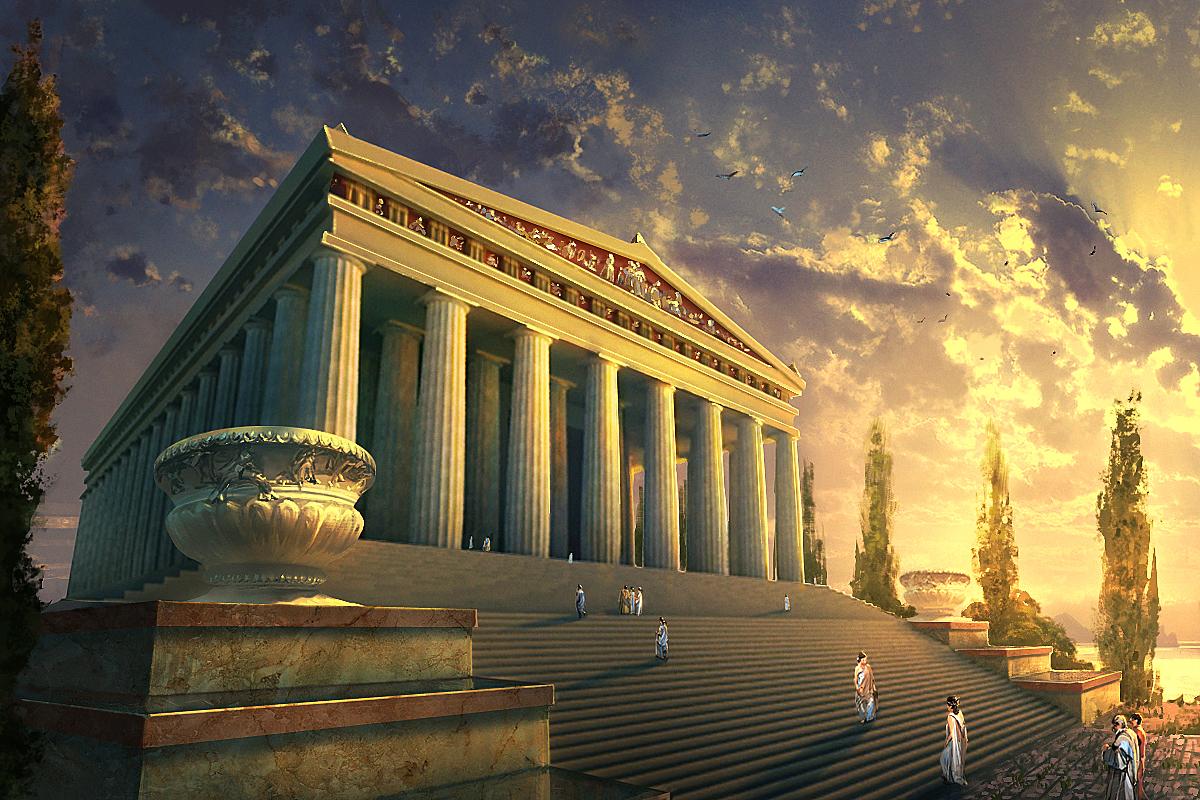 Artemis Tapınağı, günümüzde İzmir ilinin güney kısmı olan Küçük Asya kıyılarında bulunan Efes şehrinde dünyanın yedi harikasından biridir