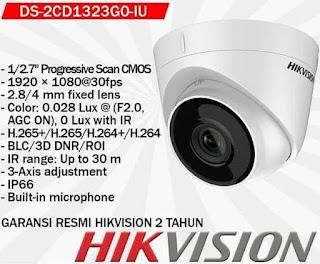 IP Camera HIKVISION DS-2CD1323G0-IU 4mm