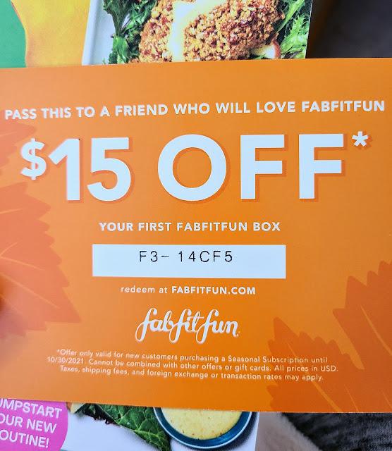 Review: FabFitFun Fall Box 2021