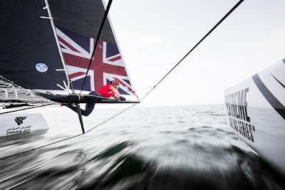 Les GC32 font le show aux Extreme Sailing Series.