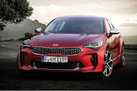 Kia Stinger (2018) Front Side
