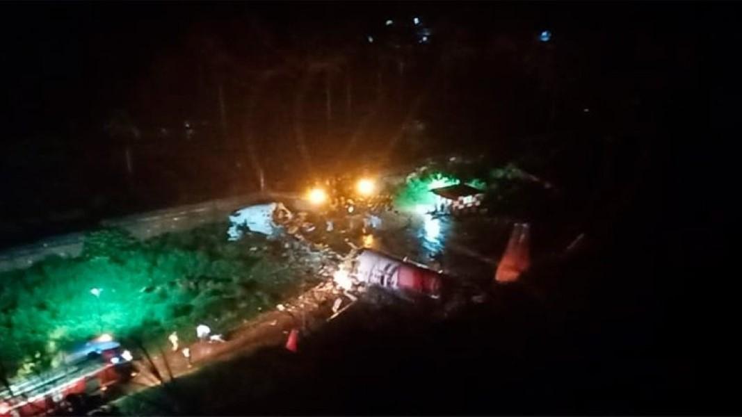 Varios muertos en accidente aéreo en el sur de India