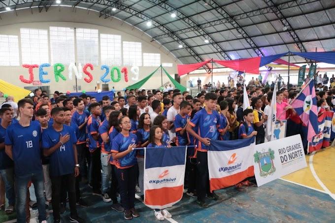 Jogos Escolares do RN mobilizam mais de 44 mil atletas