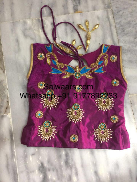 Stylish Kids Lehenga with Kundan Work