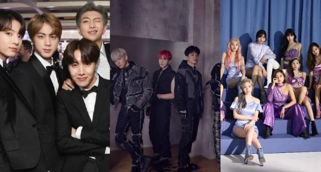 10 melhores grupos de K-pop