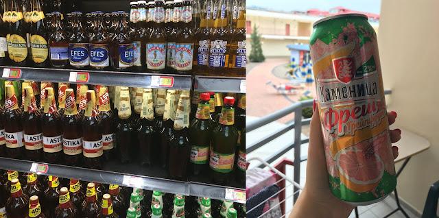alkohol w słonecznym brzegu