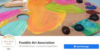 Franklin Art Association - hybrid meeting - Sep 1