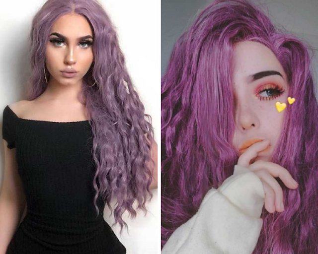 Purple Hair Wigs - Everyday Wigs