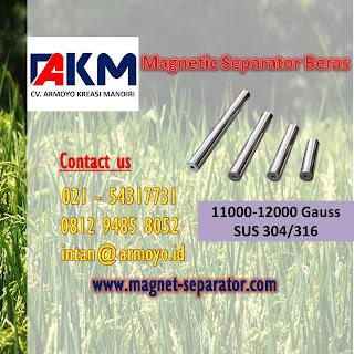 magnetic separator beras