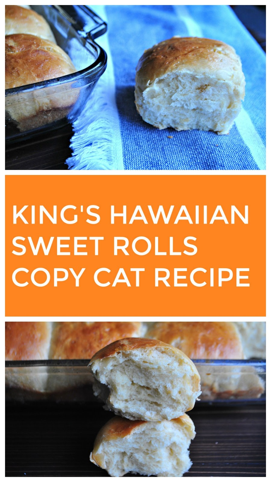 King's Hawaiian Rolls copy cat recipe that brings an American dinner favorite to your table as the perfect side.