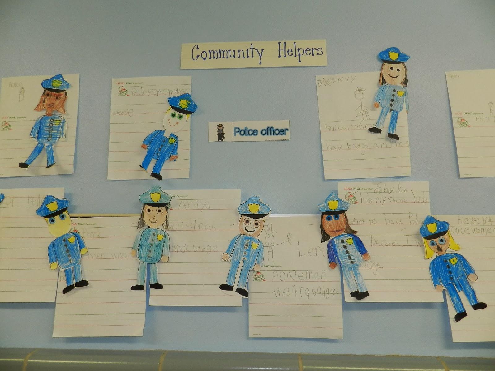 Mrs Dryzal S Fantastic First Grade Community Helpers