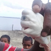 Rare, Mutant, One-Eyed Albino Baby Shark Found In Indonesian (Pictures)