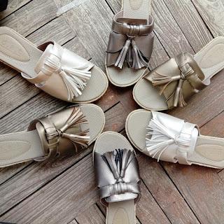 sandal kulit sintetis