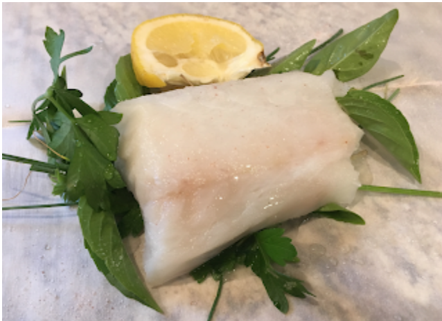 Mystery Lovers Kitchen White Fish With Mustard Honey Sauce Recipe