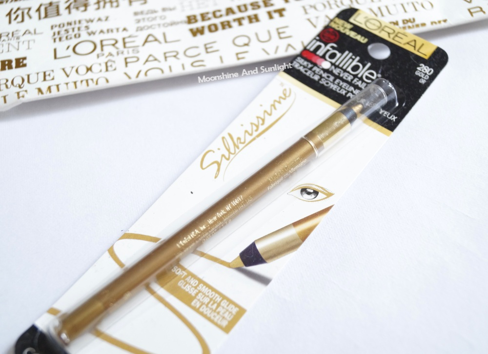 L'oreal Infallible Silkissime Eyeliner review | Gold | #ICANnes