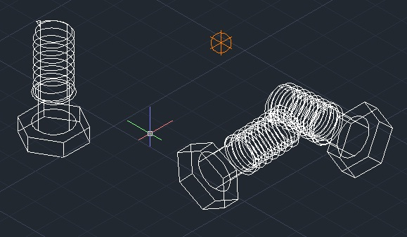 Cara Membuat Ulir Baut 2d Di Autocad