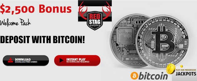Red Stag Casino accepts Bitcoin now