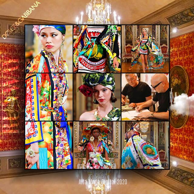 Dolce Gabbana Alta Moda 2020 Digital – Fall-Winter 2020-2021 by RUNWAY MAGAZINE