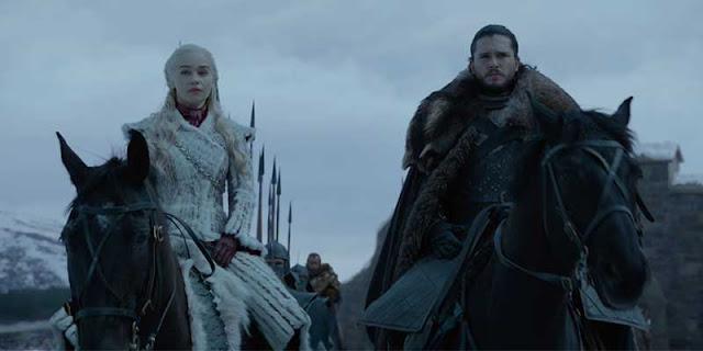 Daenerys Targaryen, Jon Snow, Juego de Tronos, Review, 8x01