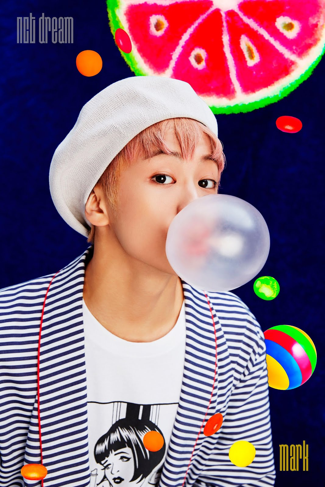picture - nct dream 'chewing gum' iTunes digital booklet