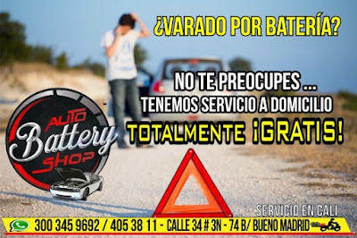 Varado por Batería - Auto Battery Shop Cali